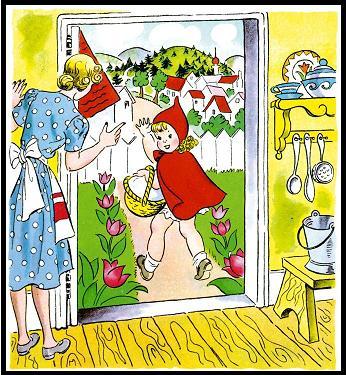 ذات الرداء الاحمر - قصة وحدوتة للاطفال رائعة بالصور Littleredridinghood16