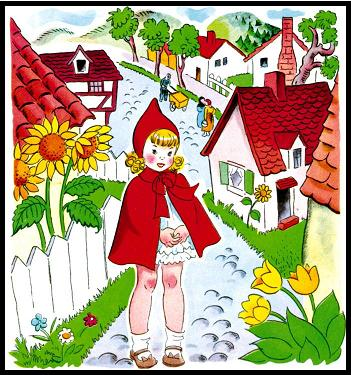 ذات الرداء الاحمر - قصة وحدوتة للاطفال رائعة بالصور Littleredridinghood17