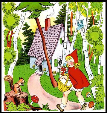 ذات الرداء الاحمر - قصة وحدوتة للاطفال رائعة بالصور Littleredridinghood22