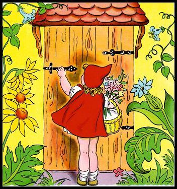 ذات الرداء الاحمر - قصة وحدوتة للاطفال رائعة بالصور Littleredridinghood23