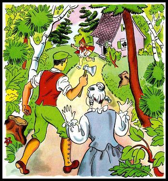 ذات الرداء الاحمر - قصة وحدوتة للاطفال رائعة بالصور Littleredridinghood26