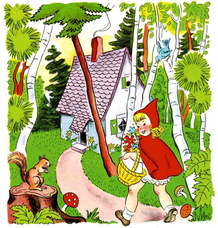 ذات الرداء الاحمر - قصة وحدوتة للاطفال رائعة بالصور Littleredridinghood8