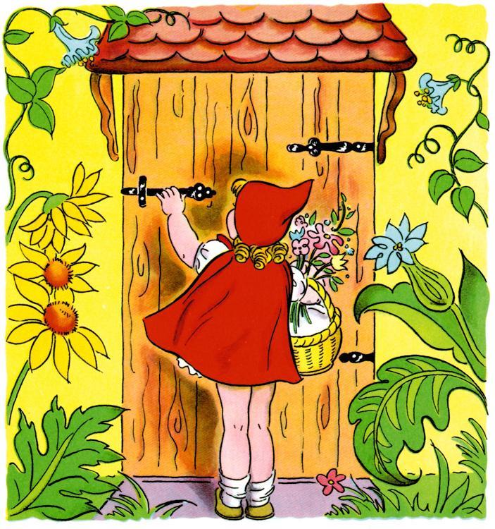 ذات الرداء الاحمر - قصة وحدوتة للاطفال رائعة بالصور Littleredridinghood9
