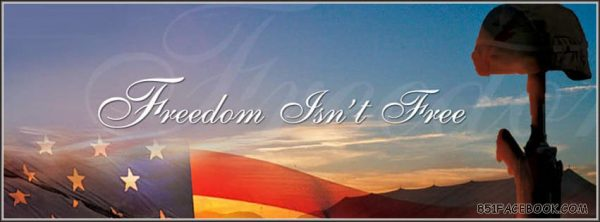 A special day to honor American heroes Freedom-isnt-free3-600x222