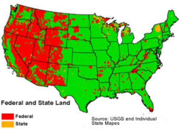 Agenda 21 Simplified: The Eradication of Private Property Rights Federal-land-ownership-600x433
