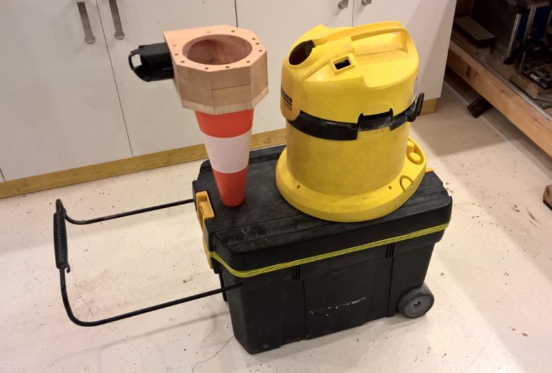 Cyclone - aspi karsher - caisse à outils - cône ! Cyclone-18