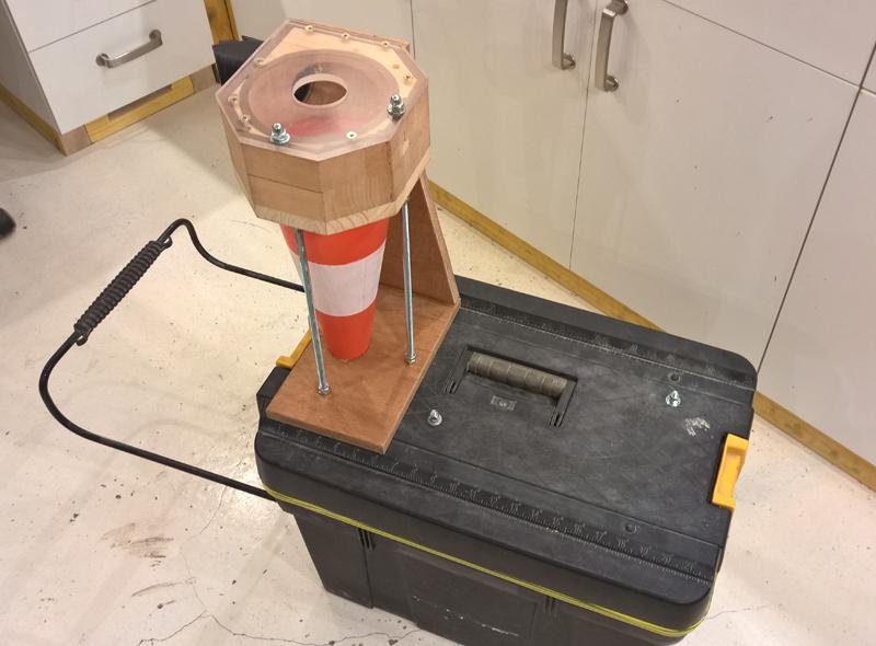 Cyclone - aspi karsher - caisse à outils - cône ! Cyclone-25