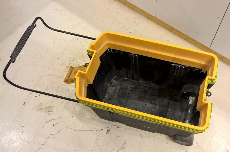 Cyclone - aspi karsher - caisse à outils - cône ! Cyclone-26