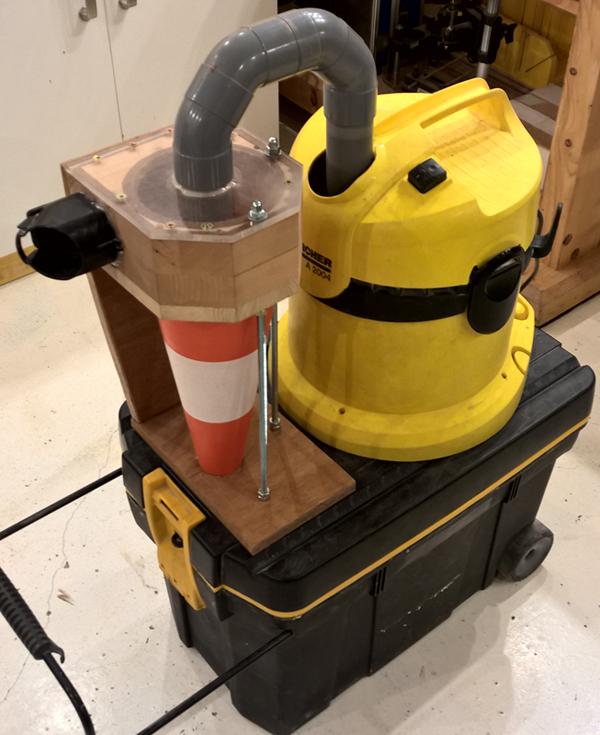 Cyclone - aspi karsher - caisse à outils - cône ! Cyclone-30