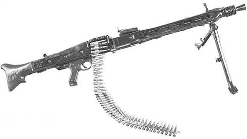 معلومات عن الرشاش الشهير MG42 Arme_allemande_mg_42