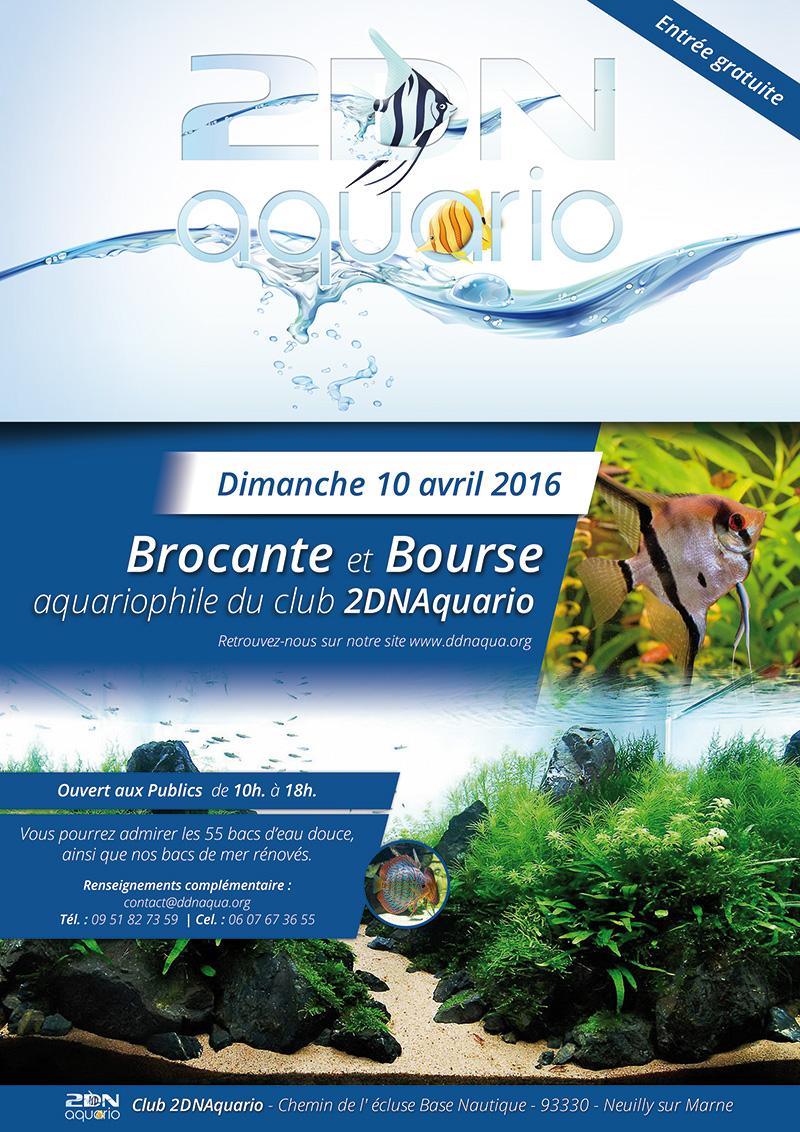 Le Club 2dnAquario  Poster-A4-2016