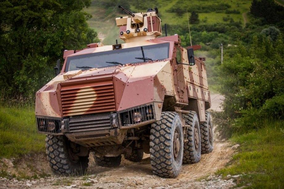 مركبة نقل المشاة التكتيكية المدرعة تيتوس TITUS M02013091100016