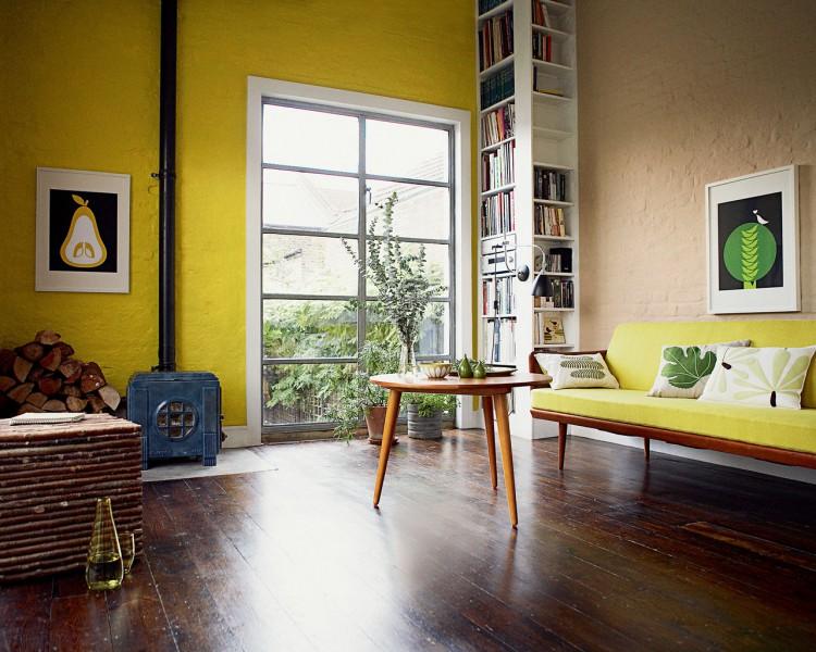 3 ans plus tard...nouvelle maison, nouvelles peintures à prévoir ! Peinture-salon-couleur-jaune-pour-dynamiser-deco--750x600