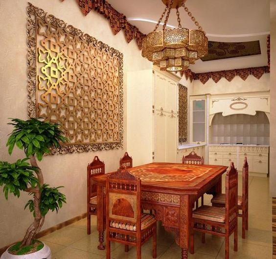 أجمل الديكورات العربية التراثية لفخامة منزلك %D8%B3%D9%81%D8%B1%D8%A9-1