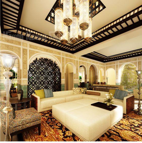 أجمل الديكورات العربية التراثية لفخامة منزلك %D8%BA%D8%B1%D9%81%D8%A9-%D9%85%D8%B9%D9%8A%D8%B4%D8%A9-2-2