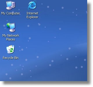 Znow Desktop Decor 1.1.1 - Βάλτε χιόνια στην επιφάνεια εργασία σας!  Znowpreview