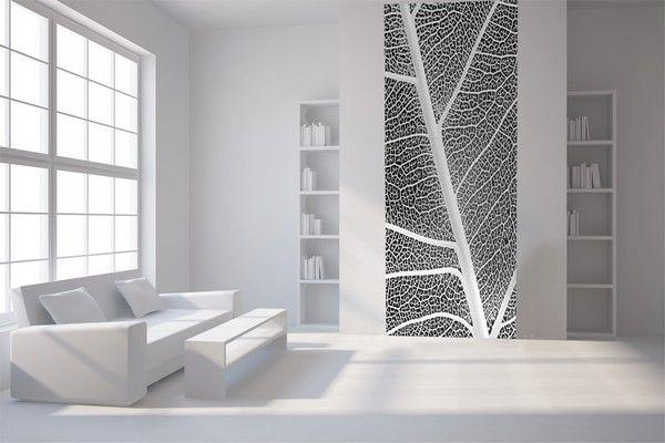 Quelle couleur pour mon salon Papier-peint-le-unique-Feuille-design_L16089