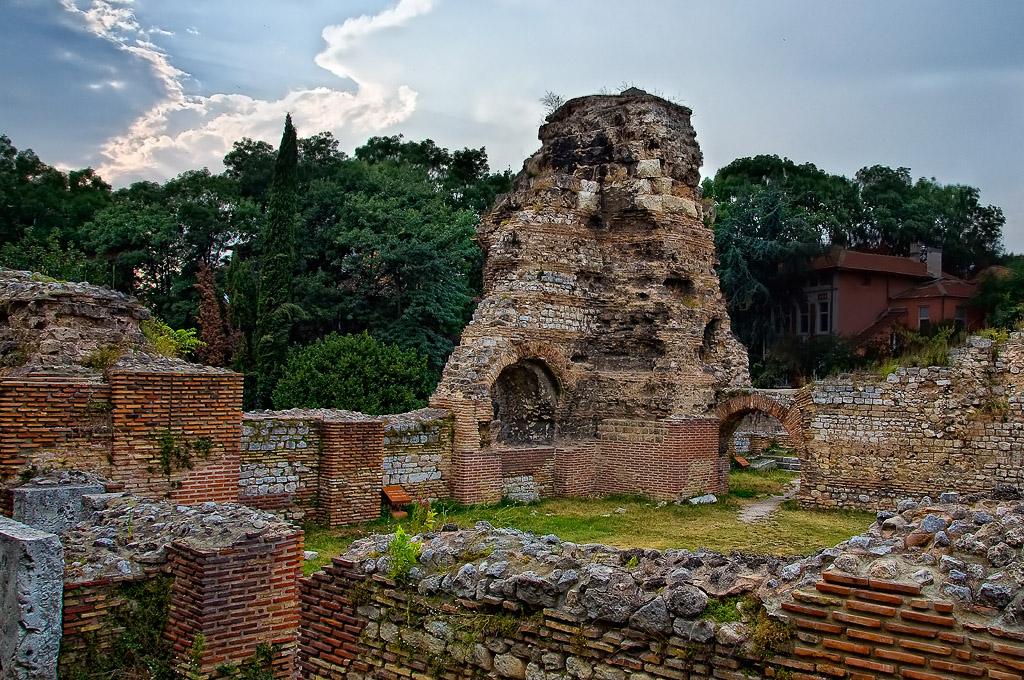 Un site à visiter -ajonc - 9 mars trouvé par Martine Thermes-romains-varna