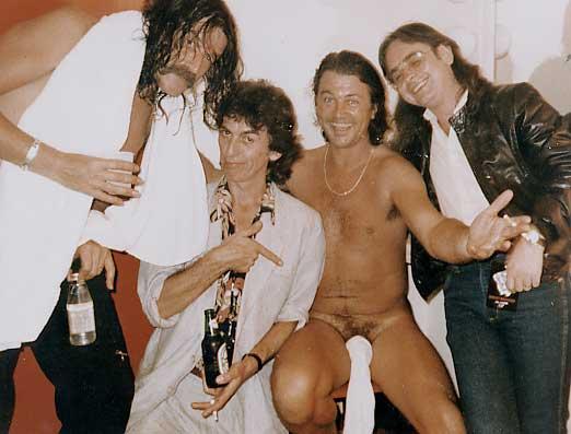 Deep Purple con George Harrison! Georgesock