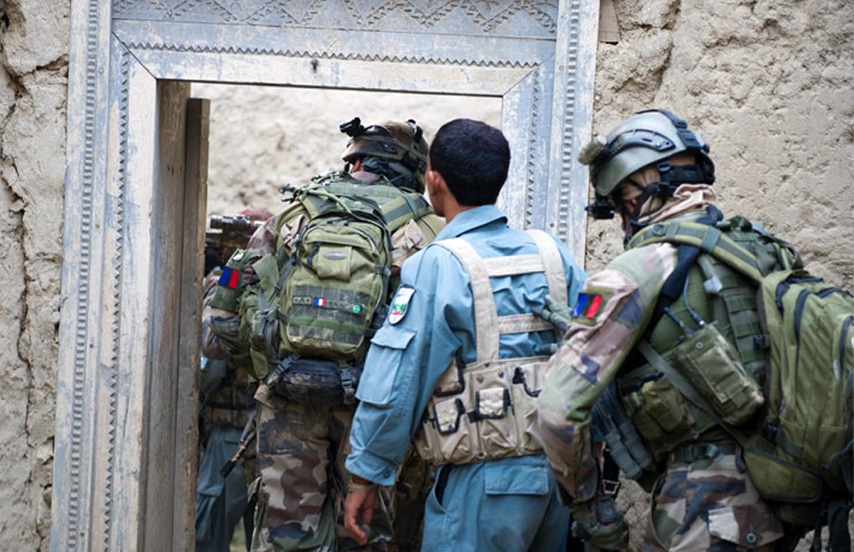 Afghanistan : Opération Rapace Nest, avec la police afghane et les gendarmes de la POMLT  Operation-rapace-nest-1