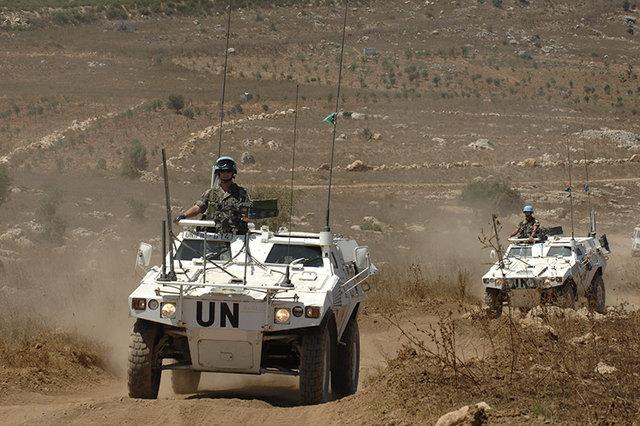 VBL Patrouille de VBL du 152e RI sur une piste au sud liban. Vbl