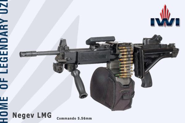 Armes de fabrication Israelienne Negev_3