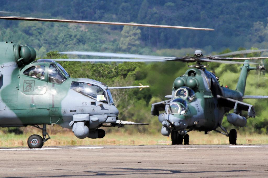 Fuerza Aérea de Brasil completa Flota de Helicópteros de Ataque Mi-25  (AH-2.) AH-2-SAbre_02