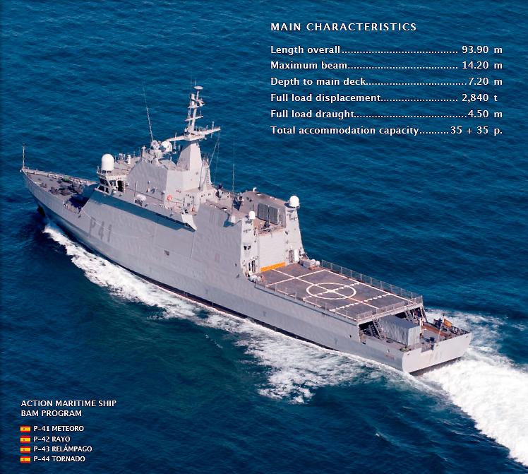 """احدث الصفقات العسكرية البحرية للدول العربية """" موضوع مجمع """" Classe-Avante-3000"""
