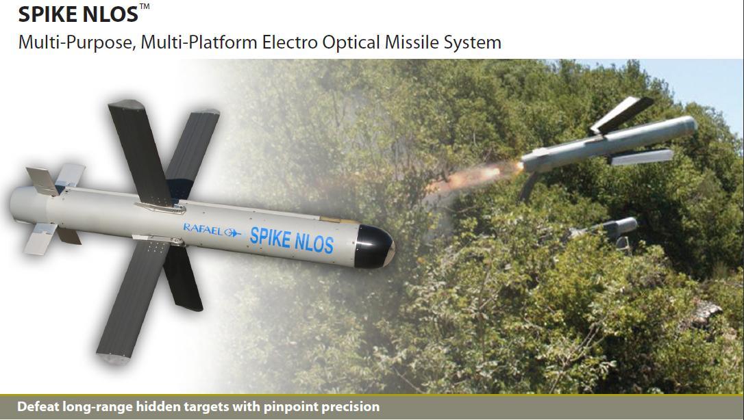 صواريخ Spike : هل صنعت اسرائيل اقوى الصواريخ القاتله للدبابات في العالم ؟ Spike-NLOS