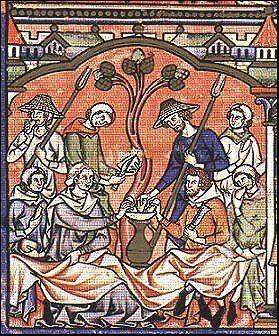 como era la ropa en la edad media Medieval