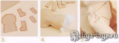 Как сшить куклу своими руками. Начинаем с простого. YAK9_2