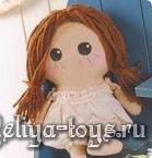 Как сшить куклу своими руками. Начинаем с простого. YAK14