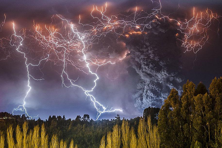 Как прекрасен этот мир Erupted-volcano-chile-francisco-negroni-3