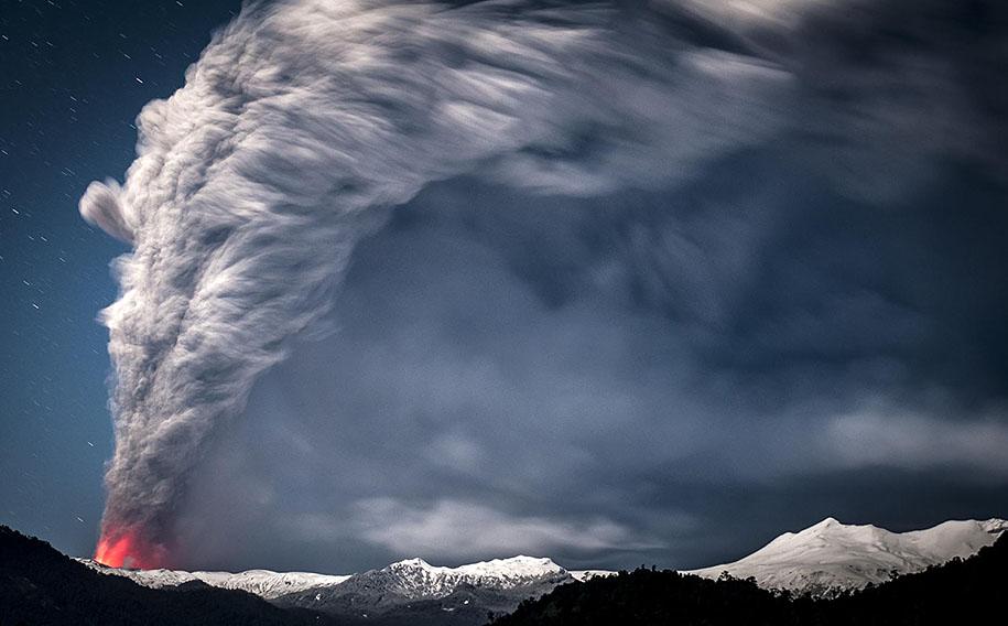 Как прекрасен этот мир Erupted-volcano-chile-francisco-negroni-4