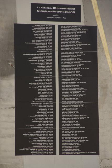 Mémorial de l'UTA 772 U