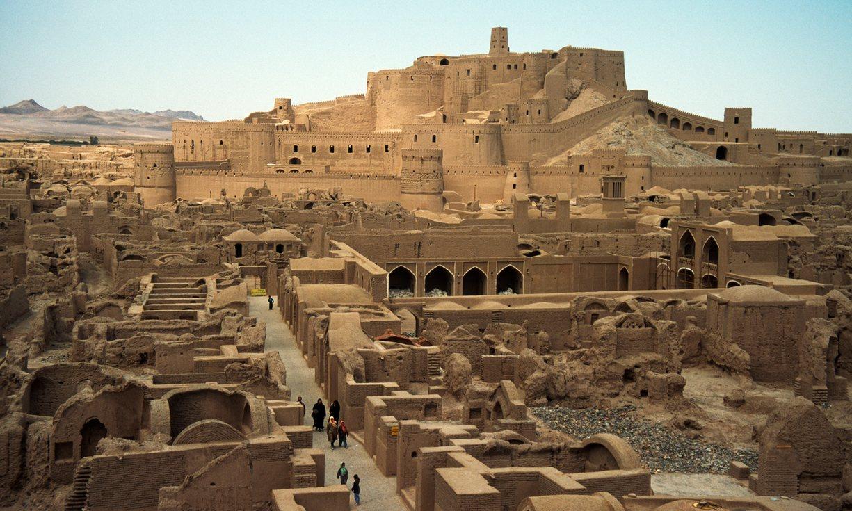 La citadelle d'Arg-é Bam, l'un des plus beaux édifices d'Iran ! Par Clément P. Ifpnews