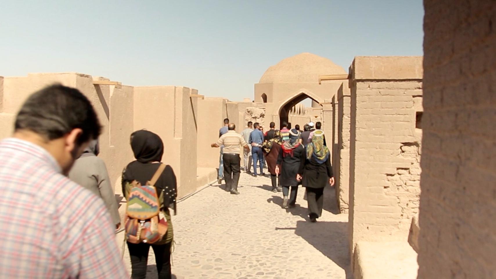 La citadelle d'Arg-é Bam, l'un des plus beaux édifices d'Iran ! Par Clément P. Ntd