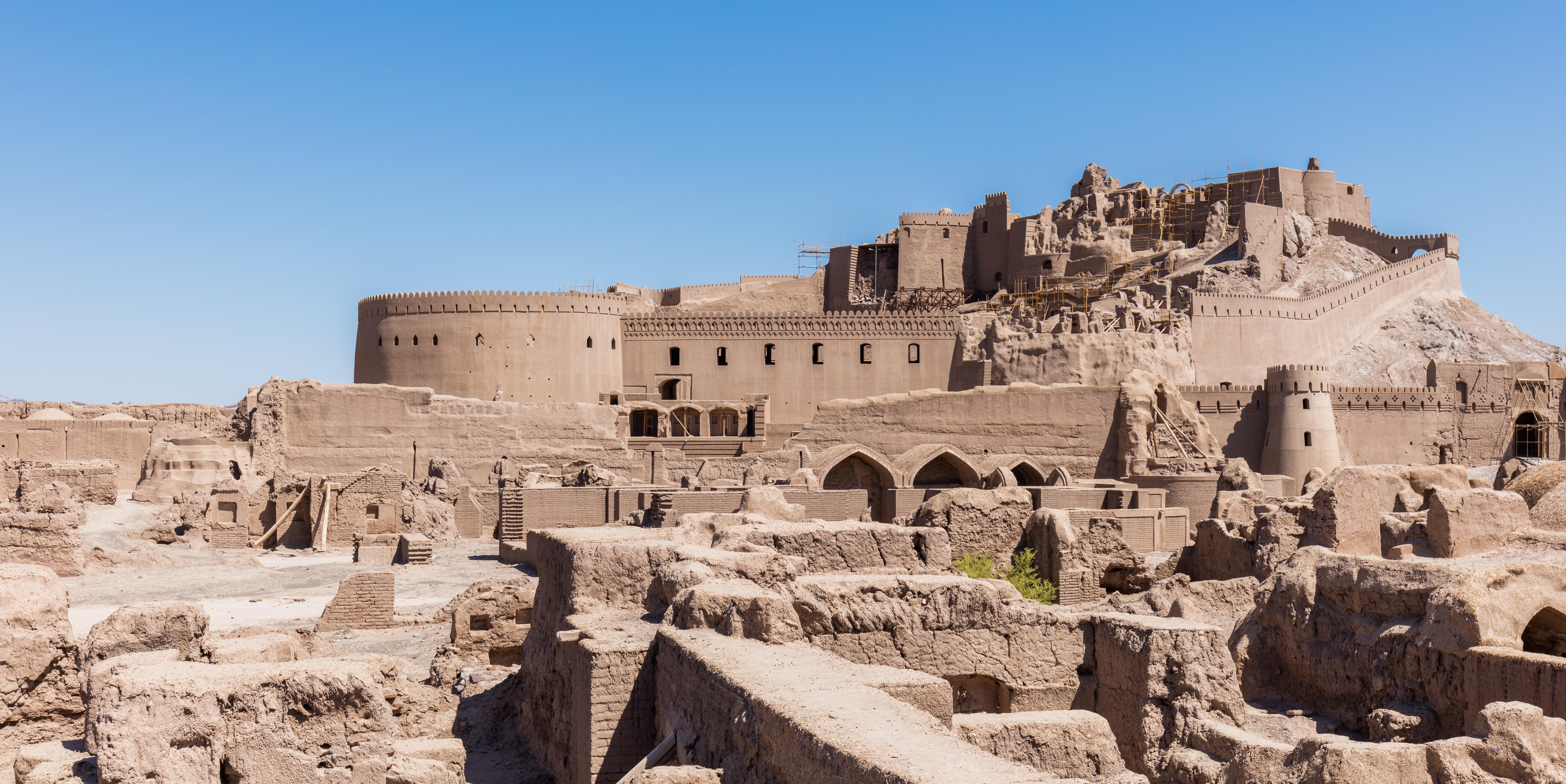 La citadelle d'Arg-é Bam, l'un des plus beaux édifices d'Iran ! Par Clément P. Wikimedia