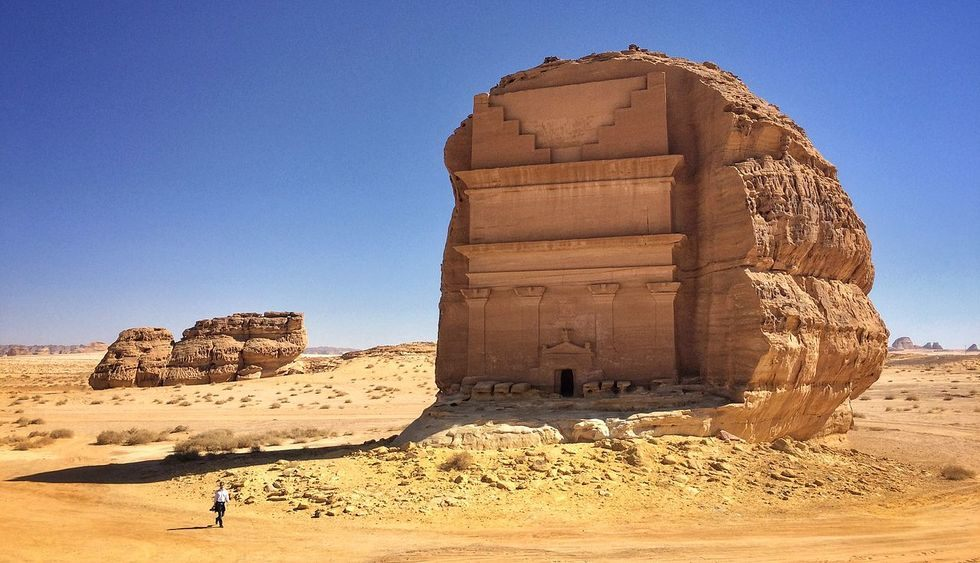 Arabie Saoudite : découvrez l'extraordinaire tombeau de Qasr al-Farid ! Par Clément P. Richardhargas
