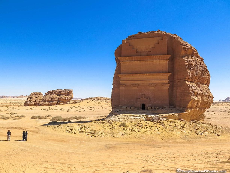 Arabie Saoudite : découvrez l'extraordinaire tombeau de Qasr al-Farid ! Par Clément P. Trover