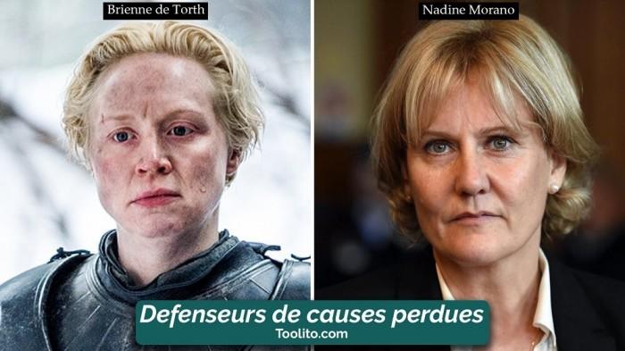 [Humour] - Nos politiques et Game of Thrones Brienne-morano