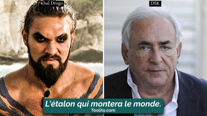 [Humour] - Nos politiques et Game of Thrones Drogo-dsk