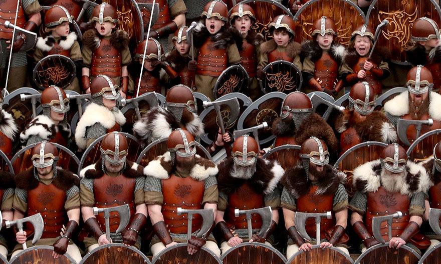 Bienvenue au « Up Helly Aa », un festival Viking impressionnant qui a lieu chaque année en Écosse 3