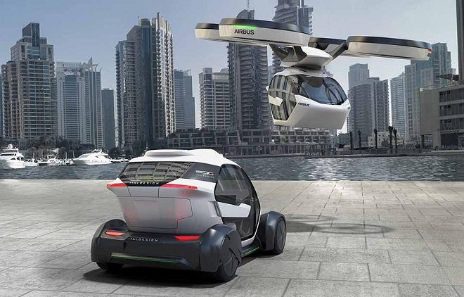 Avec Pop.Up, sa voiture volante électrique et autonome, Airbus rentre dans la course des véhicules futuristes... Et ça en jette ! Par Jérémy B. 1008x646_popup-vehicule-futur-airbus-italdesign-devoile-7-mats-2017-lors-salon-automobile-geneve