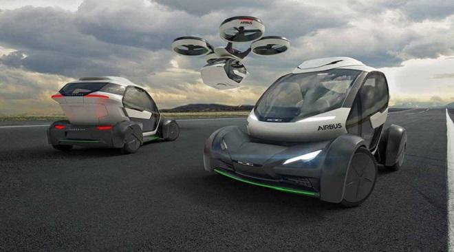 Avec Pop.Up, sa voiture volante électrique et autonome, Airbus rentre dans la course des véhicules futuristes... Et ça en jette ! Par Jérémy B. 648x360_popup-vehicule-futur-airbus-italdesign-devoile-7-mats-2017-lors-salon-automobile-geneve