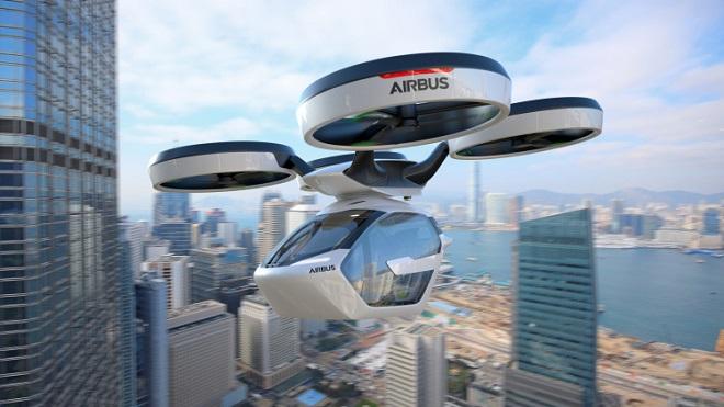 Avec Pop.Up, sa voiture volante électrique et autonome, Airbus rentre dans la course des véhicules futuristes... Et ça en jette ! Par Jérémy B. Airbus-italdesign-popup-flying-car-8-1