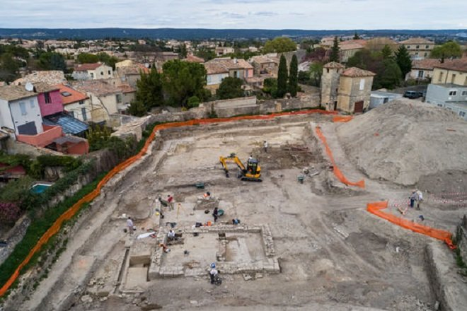 Dans le Gard, des vestiges d'une ancienne cité romaine ont été découverts...Par Jérémy B.                                 5102296_6_9b07_une-des-zones-du-chantier-archeologique_d5059816d2fc6fa6f71a0ab3cc92d2e8