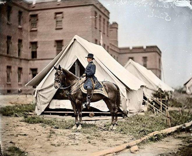 Vieilles de 150 ans, ces 20 images de la Guerre de Sécession renaissent en couleur...Par Jérémy B.   %24%20%2810%29