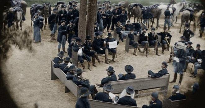 Vieilles de 150 ans, ces 20 images de la Guerre de Sécession renaissent en couleur...Par Jérémy B.   %24%20%2813%29