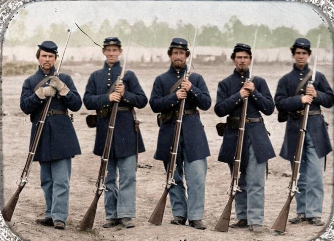Vieilles de 150 ans, ces 20 images de la Guerre de Sécession renaissent en couleur...Par Jérémy B.   %24%20%2814%29